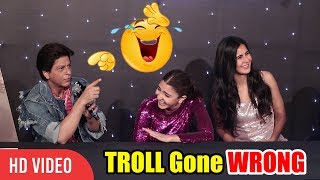 Shahrukh Se Panga Padh Gaya Reporter Ko Mehnga 😂😂😂   Hilarious Troll