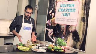 sustainable fish tacos courtesy of swedish masterchef winner amir kheirmand