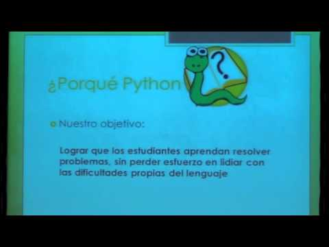Image from Python en la educación universitaria