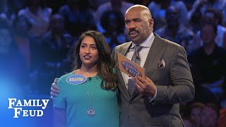 Payday for the Patels? | Family Feud