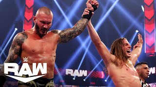 Randy Orton celebrates His Win by RKOing The New Day | WWE Raw Highlights 5/10/21 | WWE on USA