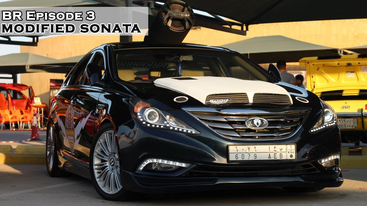 Sonata With Black Rims >> Modified Hyundai Sonata - Blazing Rims Ep. 3 - YouTube