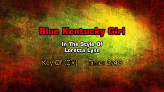 Loretta Lynn - Blue Kentucky Girl (Backing Track)