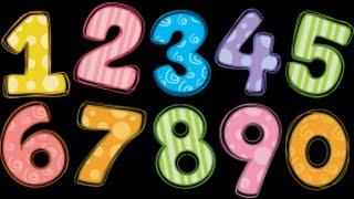 Учим цифры - Учимся считать. Развивающее видео