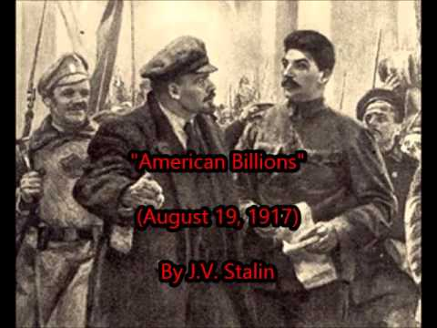 """American Billions"" by STALIN (Aug 19, 1917)"