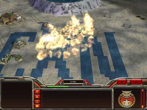 2v2 CXN - airforce did the job [Command And Conquer Generals Zero Hour Mutliplayer]