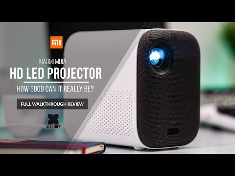Xiaomi Mijia HD Projector (Youth Edition) Full walkthrough review [Xiaomify]