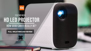 Xiaomi Mijia HD Projector (Youth Edition) Full walkthrough review [Xiaomify]