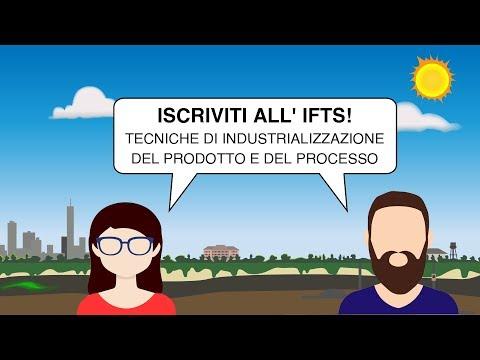 Corso IFTS - Tecniche di industrializzazione del prodotto e del processo