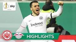 Kostić führt die Eintracht ins Viertelfinale | Frankfurt - Leipzig 3:1 | Highlights - DFB-Pokal