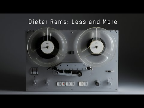 Dieter Rams  Less And More Interview