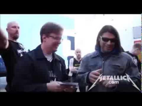 Metallica - Meet & Greet [Live Helsinki, Finland 2012] HQ