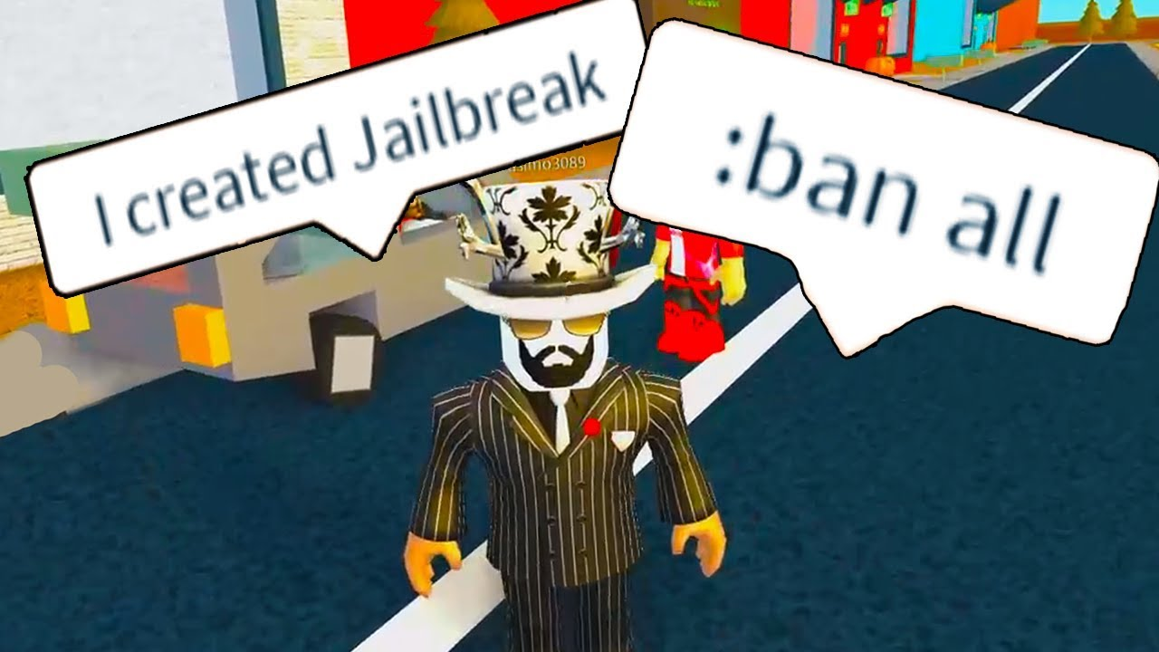 Trolling As The Owner Of Jailbreak With Admin Commands Roblox
