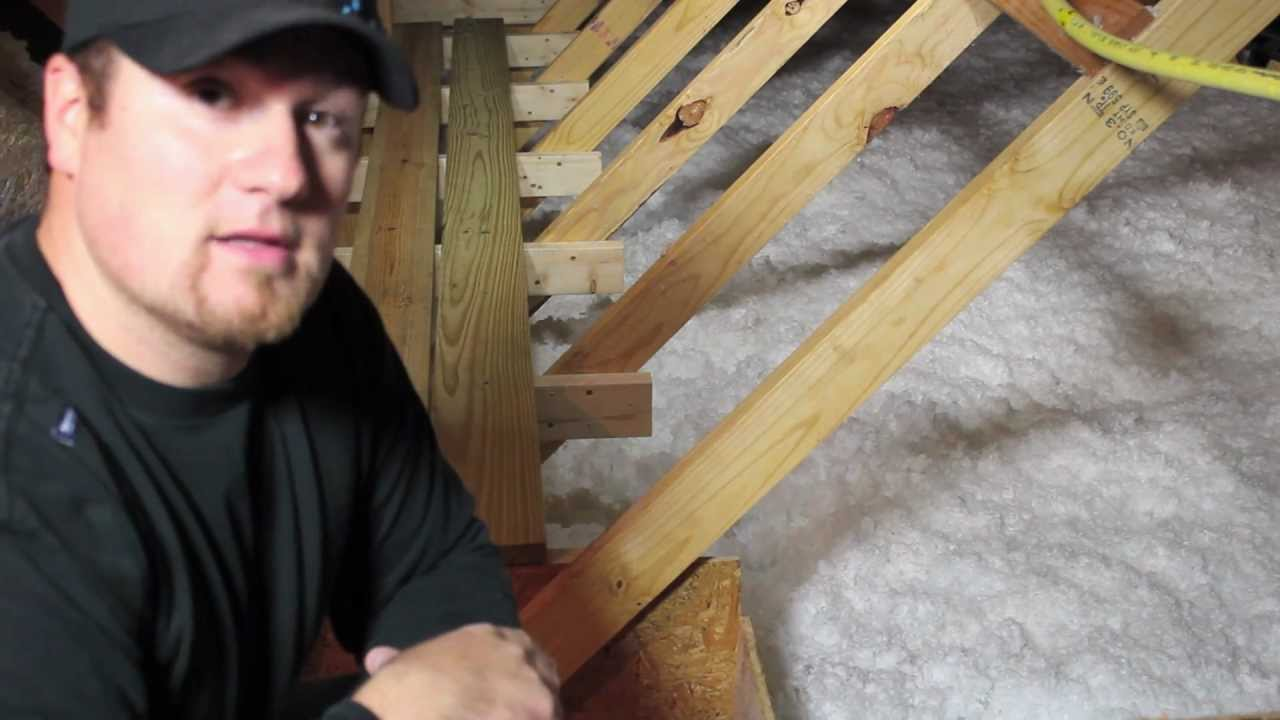 EASY DO IT YOURSELF STORAGE SPACE IN YOUR ATTIC PART 1