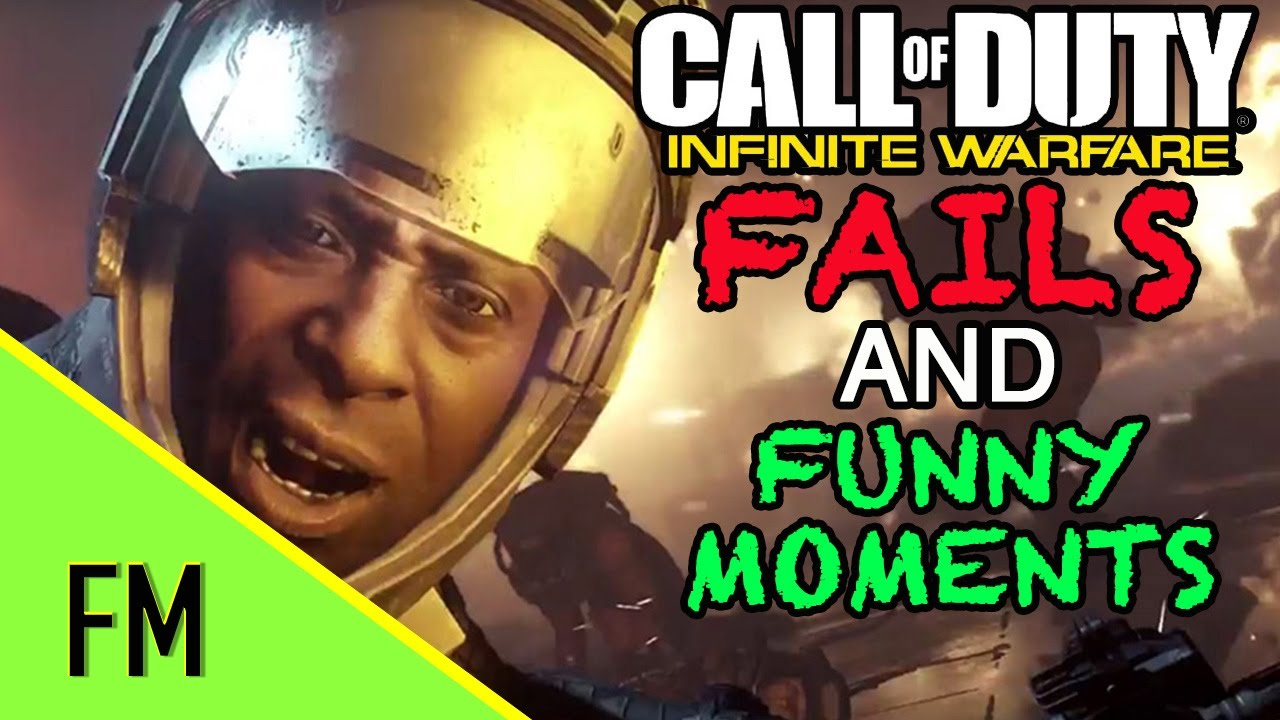 Funny Montage   Call Of Duty: Infinite Warfare (CoD:IW) Fails, Zombies, Funny Moments And More!