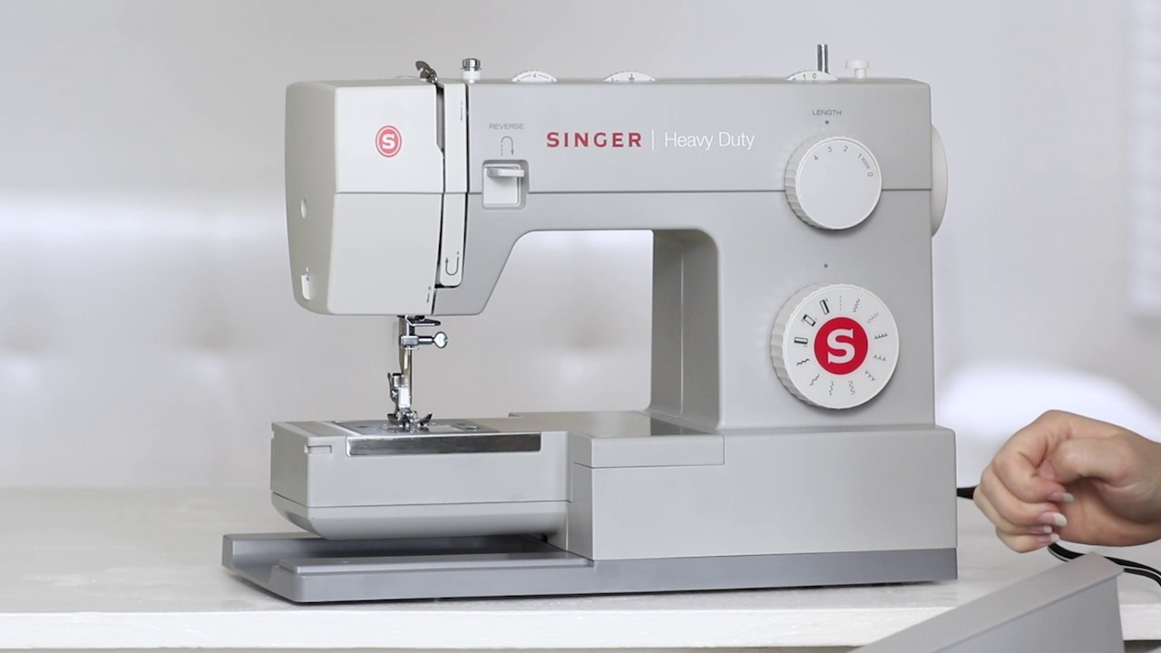 SINGER 4411 | Heavy Duty - Your Machine - YouTube