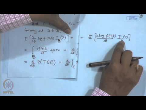 Mod-13 Lec-13 Sufficiency and Information