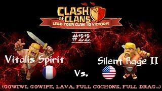 Replay GDC - Hdv 8-9-10 - (lvl 73 à 142) - Clash of Clans