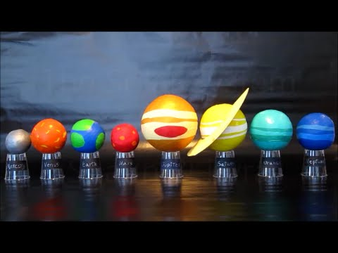 Planets In Our Solar System | DIY Science Project For Kids |