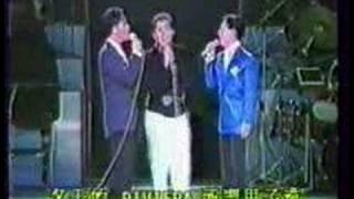 東京歌謠祭-張國榮譚詠麟趙容弼森進一合唱愛維娜之冬.