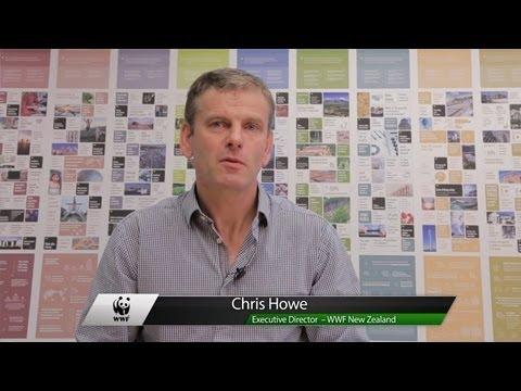 Chris Howe, Executive Director at WWF NZ