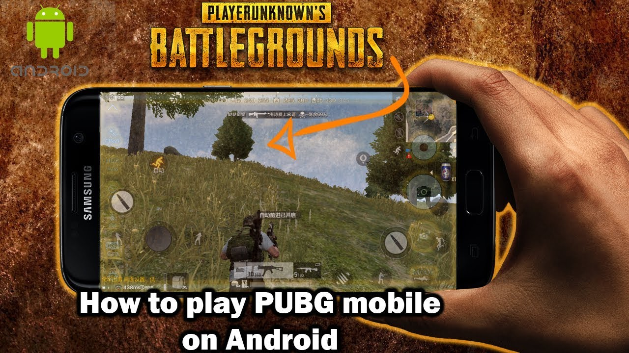 How to play PUBG mobile on android for free  !! + Gameplay