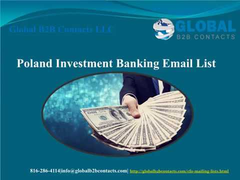Poland Investment Banking Email list