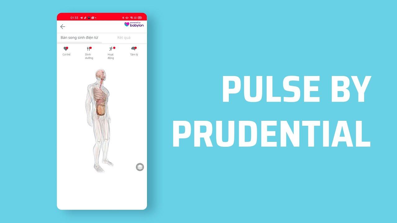 Pulse by Prudential: trợ lý sức khỏe thời 4.0
