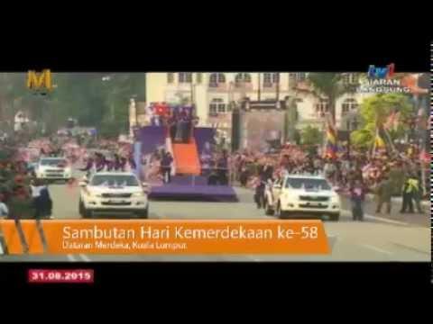 {LIVE } Sambutan Hari Kemerdekaan Malaysia ke-58 [ 2015 FULL ]