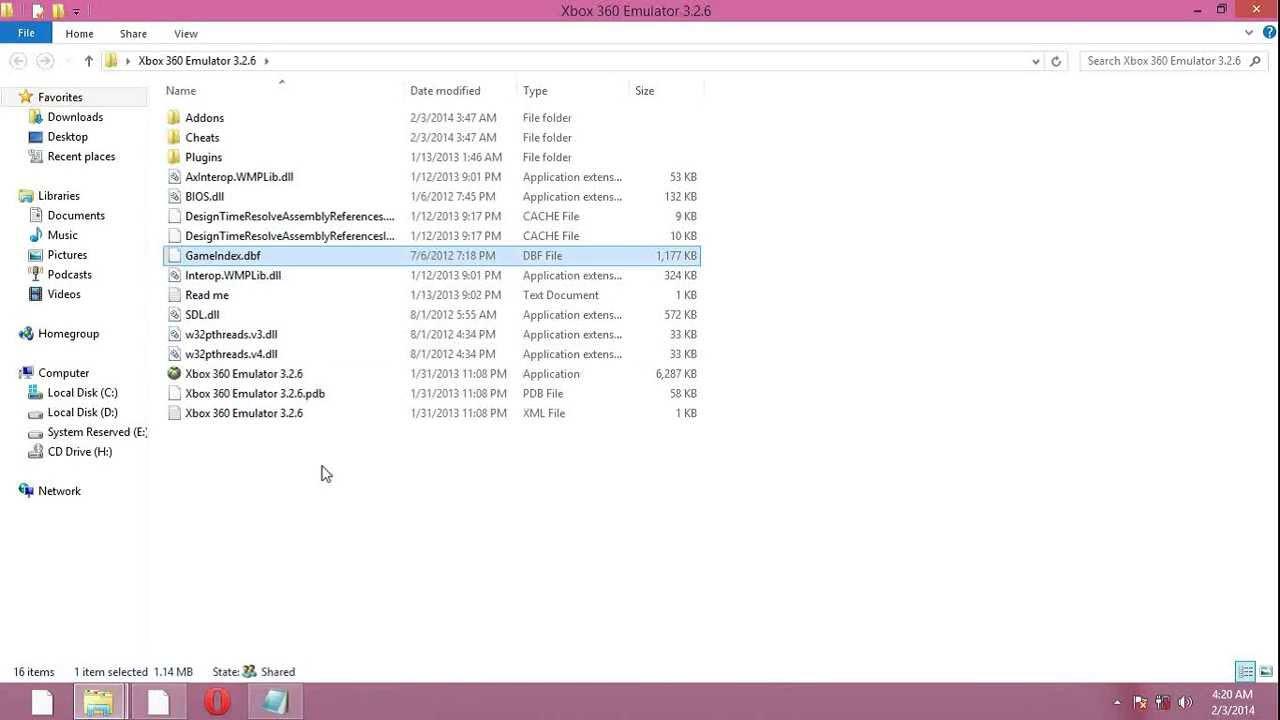 vr xbox 360 emulator bios file