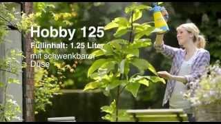 Opryskiwacz ogrodowy Gloria Hobby 100 i 125