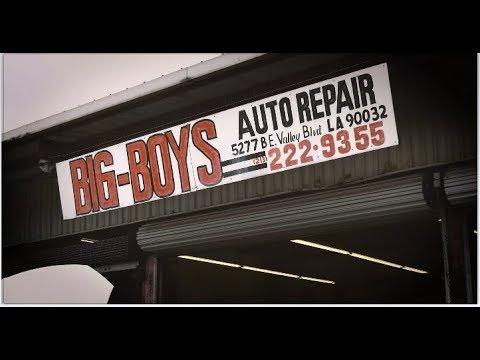 Big-Boys Auto Repair in El Sereno, Los Angeles Hooks You Up