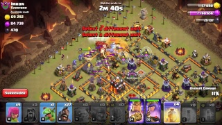 Unbalanced COC League Wars - fighting with monster clan