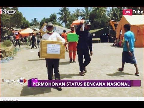 Surati Jokowi, DPRD NTB Minta Gempa Lombok Jadi Bencana Nasional- iNews Sore 21/08