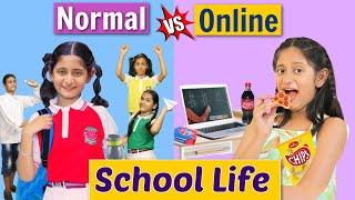 SCHOOL LIFE - Back To School vs Online   MyMissAnand