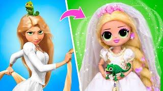 Rapunzel's Wedding / 12 LOL OMG DIYs