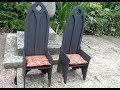 How to make medieval Gothic chair or throne for MSD BJD doll