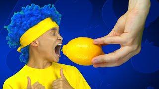 Lyrics: Yummy, Yummy, So Yummy! Lemon and Tomato, I like it! Yummy, Yummy, So Yummy! Onion, Watermelon, I like it! Yummy, Yummy, So Yummy!