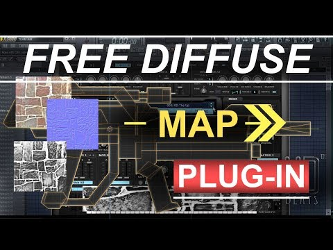 Blender 2.8 : FREE Diffuse Map Plugin Download/Installation (In 20 Seconds!!!) - Gimp Tutorial thumbnail