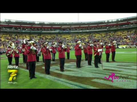 New Zealand Army Band at the 2013 Hertz Sevens