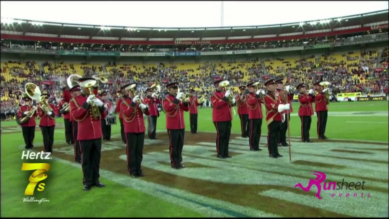 new zealand army band at the 2013 hertz sevens youtube. Black Bedroom Furniture Sets. Home Design Ideas