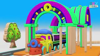 CHU CHU TRAIN - Train Cartoon for KIDS - Toy Videos for Kids - Choo Choo Train