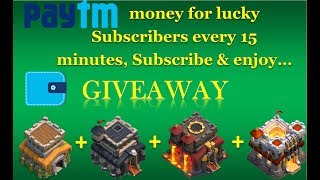 Giving awaymax town halls & Paytm money to lucky, lets subscribe and enjoy... thumbnail