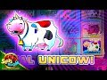 Mythical Unicow !!! 300+ Free Spins on Invaders Return From Planet Moolah WMS Slot