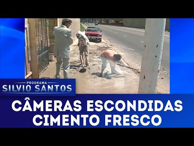 Cimento Fresco | Câmeras Escondidas (10/03/19)
