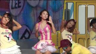 Lee Hyo-ri - U-Go-Girl, 이효리 - 유 고 걸, Music Core 20080830