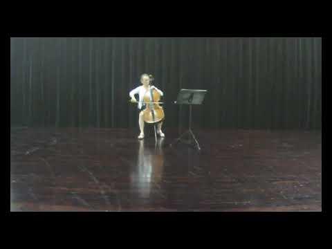 B. Yoffe: 'Wald im Mai' by Pia Segerstam cello solo