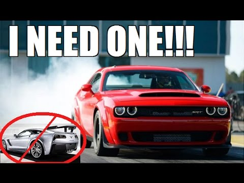 Thumbnail: BUYING a Dodge Demon INSTEAD of a 2018 ZR1!?