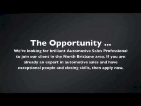 Video Job Ads Automotive Sales Recruitment Youtube