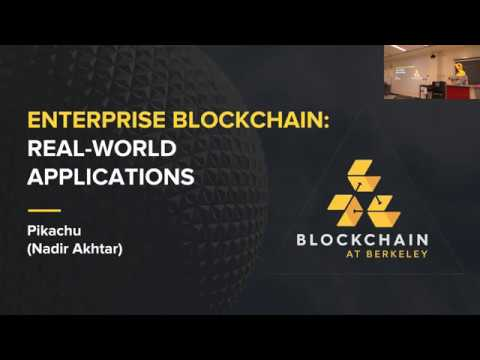 [Lecture 9] Enterprise Blockchain: Real-World Applications